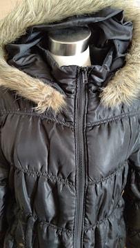 中綿ジャケット 大きいサイズ4L 黒