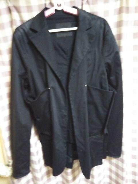 ★annhagen 変わったデザイン ジャケット だぼっと羽織るだけ サイズM●  < 男性ファッションの