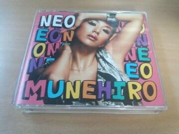 MUNEHIRO CD「NEO」レゲエ 鈴木紗理奈 CD2枚組DVD付●
