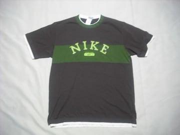 rt604 男 NIKE ナイキ 半袖Tシャツ Lサイズ ブラウン