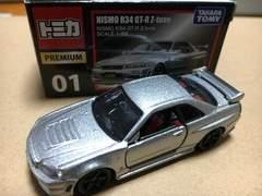 トミカ プレミアム 01  NISMO R34 GT-R  Z-tune