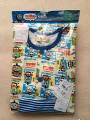トーマス☆長袖前開き腹巻き付きパジャマ95☆新品タグ付き