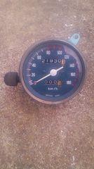 ホーク バブ 実働 スピードメーター 180キロ