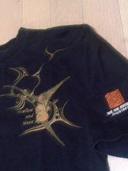 ★USED[爆烈爛漫娘]2004年モデル燕(ツバメ)半袖Tシャツ スカジャン好きにも