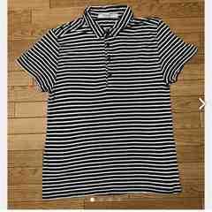 送料無料■管理No.8■TOPMAN ボーダー 半袖 シャツ Mサイズ