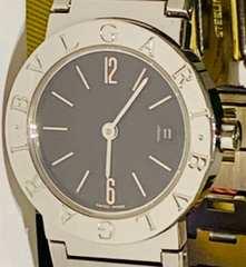 良品ブルガリブルガリレディース時計BB26SS定価43万ブレス稼働品
