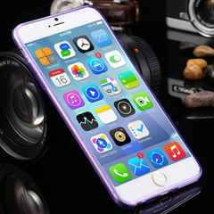 iphone6s/6  plus (5.5inch) ケース シリコンカバー パープル