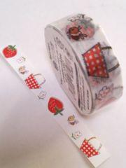 キュートマスキングテープ《12》★strawberry&bee