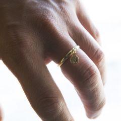 超小コイン 輪リング11号-17号/指輪