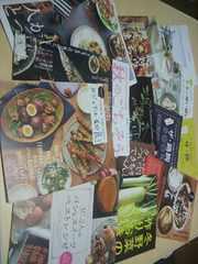 未使用料理本4冊+α(おかず・スイーツ・お弁当)切手払い可能