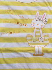 新品!KP*mimiちゃん☆日本製!ボーダー半袖Tシャツ☆150cm☆