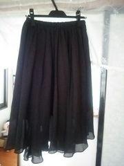 イエナ スカート 36黒