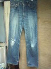 リーバイス502色落ちジーンズ
