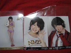 限定NMB48 3枚セット 公式生写真 小林莉加子 非売品 未使用