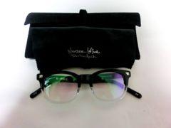 ナンバーナイン眼鏡サングラス ×泰八郎謹製  クリアー