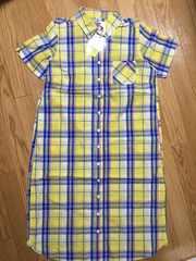 新品タグ付ロデオクラウンズ半袖Tシャツチェック柄シャツワンピーススカート