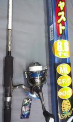 エギロッド・ライト キャスト8.6ft・リール スコートロンEG2000PE