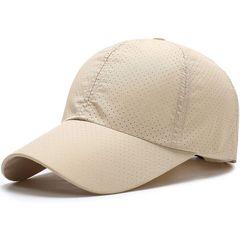 キャップ 帽子,夏 秋 メッシュ ベージュ