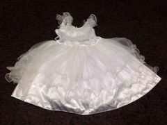 真っ白ドレス   100サイズ