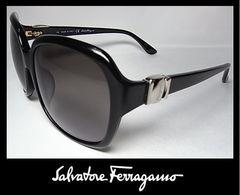 Ferragamo サングラス ブラックXブラックグラデーション SF653SA 001 本物新品