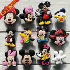 ◆ミッキーマウス シビッツ風 クロックスアクセサリー 12点◆