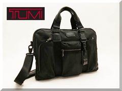 TUMI☆トゥミ マクネア スリム ALPHA BRAVO オールレザー ブリーフケースバッグ