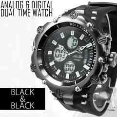 NEW★アナログ&デジタル・ビッグフェイス腕時計MB2