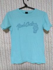 RAD CUSTOM 130�p男の子半袖Tシャツ 水色