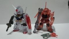 FW ガンダムコンバージLIMITED(for overseas only) ガンダム&シャア専用ザク