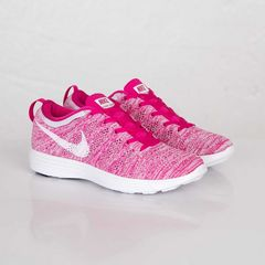 NIKE WMNS FLYKNIT TRAINER FIREBERRY 28.5cm ピンク