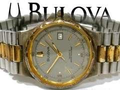 極レア BUOVA/ブローバ【スイス製】アンティーク メンズ腕時計