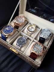 人気メンズ腕時計アソート6本セット♪箱付き★インテリアにも
