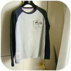 ★美品★Bluegill★ブルーギル★メンズ★ロングTシャツ★M★
