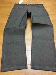LA直輸入  ROCAWEAR  ストレートデニム  黒グレー size W44 118cm