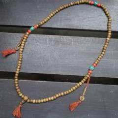 水牛骨製数珠 78センチ