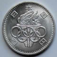 ◆東京オリンピック 100円銀貨 準未使用