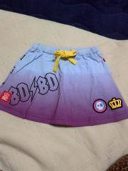 新品未使用 ベビードール スカート 110cm