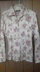 トルネードマート花柄長袖シャツ シェラック フーガ