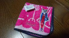 ¥540Britty5新品☆タオルハンカチ/ピンク