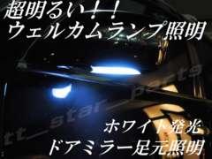 mLED】レクサスLS600h/600hL前期中期/ウェルカムランプ足元照明ホワイト
