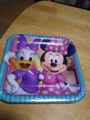 ミニーマウスの紙皿