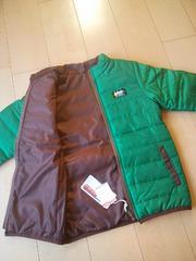 新品ぽかぽかジャケット140緑ジャンクストアーJUNK STORE