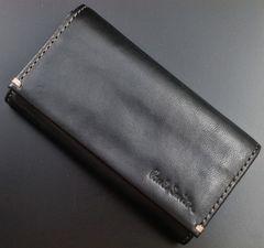 新品☆ポールスミス 上質馬革使用 4連キーケース 黒