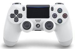 即決 PS4 純正ワイヤレスコントローラ DUALSHOCK4 グレイシャーホワイト 送料無料