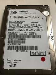 HITACHI ノートPC HDD 320GB