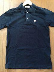 BAPE APE ポロシャツ ワンポイント 黒 M Stuusy