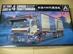アオシマ 1/32 アートトラック No.04 永遠の初代渡月丸 新品
