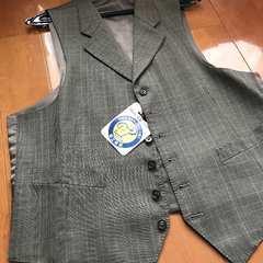 新品同様ベスト紳士服クリーニング済96AB5