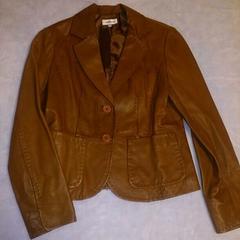 ヴェールダンス*ブラウン羊革ジャケット
