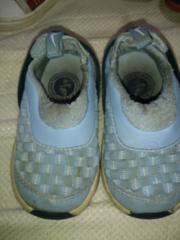 ナイキ。ブルー系。10センチ。靴